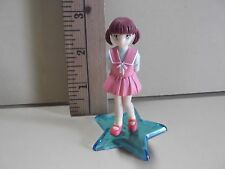 "#D7 Unknown Anime 3""in Twin Tail Red Head in Darling Pink Dress"