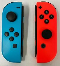 Genuine Nintendo Switch Joy-Con (L/R) Neon Blue (L) Neon Red (R) - Custom (UD)