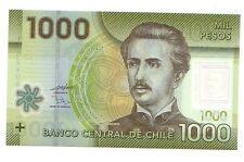 Cile Chile 1000 pesos  2010     FDS UNC   ref 4069 polymer  polimeri