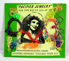 Pacifier Jewelry Necklace Bracelet Gumball Vending Machine Disp Card Toys #41