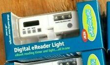 Mark My Time Digital E-Reader Light & Timer. Only 1 Left. White