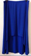 Womens Plus 2X Blue Knit Skirt Derek Heart Poly/Spandex  New w/Tag