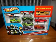HOT WHEELS 9 CAR GIFT PACK, EXCLUSIVE DECORATION, FAIRLANE, MUSTANG, NIP, 2012