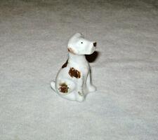 Vintage Ceramic Fox Terrier Miniature Dog Figurine