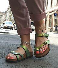 BIRKENSTOCK  Mayari Graceful Gemm Gold 1010924 Sandale Birko-Flor normale Weite