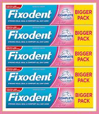 5x Fixodent Original - Adhesive Cream - Complete - Full/Partial Denture- *70g*