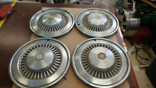 "1977 Chevrolet Chevelle Malibu 15"" Wheel Covers Hubcaps Set of 4 OEM"