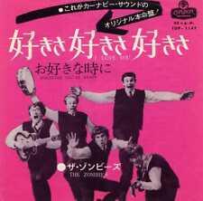 """ZOMBIES """"I LOVE YOU"""" ORIG JAPAN 1965/67"""