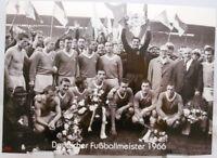 TSV München 1860 + Deutscher Fußball Meister 1966 + Fan Big Card Edition F63 +