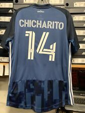 Adidas LA GALAXY Authentic Away Jersey 2020  #14 CHICHARITO Size Man Large  Only