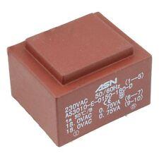 0-15v 0-15v 1.5va 230v ENCAPSULADO PCB Transformador