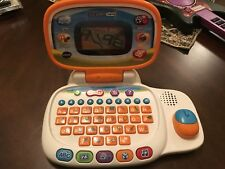 VTech Tote and Go Laptop Educational Kids Toy Learning Activities Fun Orange
