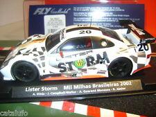 Fly A404 Lister Storm Brasileiras Naked Lady Slot Car1/32