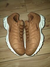 MEN,S NIKE AIR MAX TN PLUS QUILTED WOOL ALE BROWN 806262-200 BNIB Size Uk 11