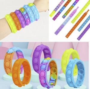Fits Popit Fidget Wristband Popper Dimple Poppit Party Bag sensory Toy UK 1 10