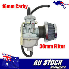 QUAD CARBURETOR Air Filter 16mm Carby 50cc 70cc Chinese 4 stroke atomik lei
