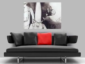 "UNKLE BORDERLESS MOSAIC TILE WALL POSTER 35"" x 25"" U.N.K.L.E."