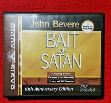 AS NEW Bait of Satan: Living Free from the Deadly Trap of Offense by John Bevere