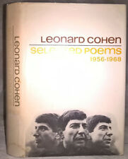 "1968 ""Selected Poems: 1956-1968"" Leonard Cohen 1st Edition, 2nd Printing in DJ"