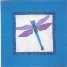 Dragonfly paper pieced quilt pattern by Eileen Sullivan of Designer's Workshop