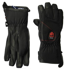 Hestra Heated Gloves Waterproof Power Heater Cold Weather Ski Glove Black 10 NEW