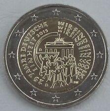 2 Euro Deutschland D 2015 25 Jahre Deutsche Einheit unz
