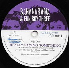 BANANARAMA & FUN BOY THREE- REALLY SAYING SOMETHING/GIVE US BACK OUR CHEAP FARES