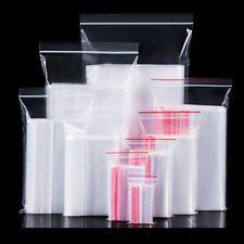 Storage Packaging Bags Set Zip Lock Plastic Bag Home Food Gift Container 100pcs