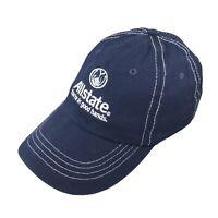 Allstate Insursance Mens Adjustable Strapback Hat Blue