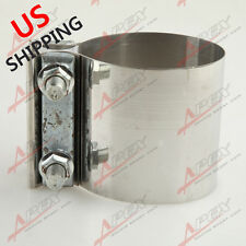 """3"""" Stainless Steel 3"""" Inch Exhaust Flat Band Clamp US"""