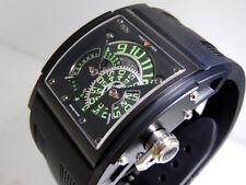 HD3 Complication Three Minds Green Ti/PVD/Rubber  LTD 33pc 52x44mm $59,000 NIB