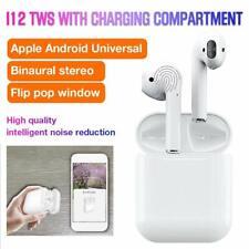 i12 TWS Wireless Bluetooth 5.0 Earbuds Earphone Headset Headphones Mini With Mic