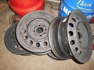 4 Stahlfelgen Toyota Corolla 5,5X14 ET45
