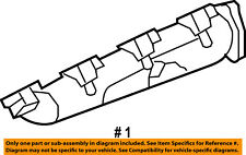 FORD OEM 08-10 F-250 Super Duty-Exhaust Manifold 8C3Z9430A