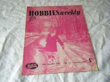 Hobbies Weekly, 19th Dec, 1962, vol 135 no 3497, Sledge, Chest Of Drawers, etc