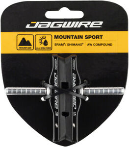 Jagwire Mountain Pro Cantilever Brake Pads Smooth Post All Weather Compound