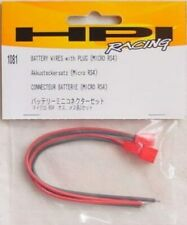 HPI Micro RS4 Battery Wire Set w/Plugs