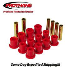 Prothane 80-96 Ford F100 / 150 Rear Leaf Spring Eye & Shackle Bushing Kit 6-1007