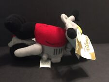 Disney Store Biker Mickey & Minnie Motorcycle Bean Bag Set BIKE ONLY Plush Rare