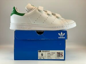 Adidas Originals Stan Smith CF Mens Shoes Size 9 Cloud White Green FX5509