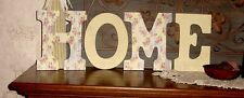 """""""HOME"""" Decorated 9"""" Multi-Colored Letters  - HM129"""