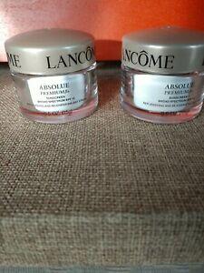 Lancome Absolue Premium Bx Replenishing & Rejuvenating Day Cream SPF15, 0.5OZ x2