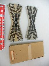 H157-0, 5 #2x Märklin 00/H0 Cruce 3600K S. G 1x Box Para 800