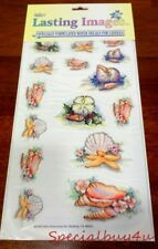 Old Store Stock Water Decals Candle Sea Shell Decoupage School Teacher 20 Packs