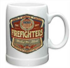 FIREFIGHTER - HONOR SERVICE - BEER STEIN MUG - BRAND NEW 20 OUNCES FF2099PS