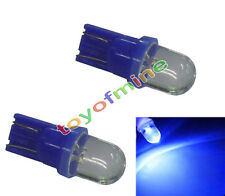Ampoule LED T10 W5W 2x Sidelight Wedge lampe Super Bright Bleu