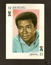 Ironside Don Mitchell 1969 Rare TV Show Card Look! from Spain