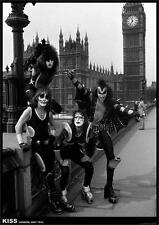 ~~ KISS  {eu} LONDON 1976  24X33 POSTER ~~