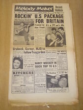 MELODY MAKER 1957 MAY 25 TOMMY STEELE ALAN FREED NANCY WHISKEY JACK TEAGARDEN