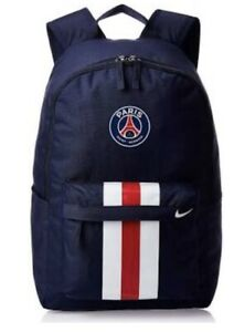 Nike Paris Saint Germain Backpack PSG FC Stadium School Rucksack Sports Bag New